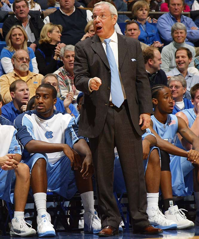 Williams' mentor, Dean Smith, is the one who first devised the famed Carolina Secondary Break, but Roy has increased the pace -- and the Tar Heels' reliance on it -- in his return to Chapel Hill. The Tar Heels like to attack during this transitional period between the initial fast-break and their motion offense, because defenses are often neither set nor in the proper man-to-man matchups.