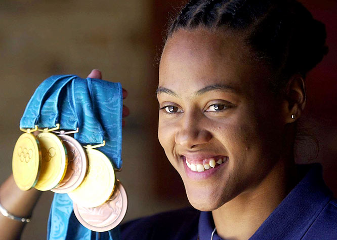 The IOC strips Jones of her five Olympic medals won in Sydney.