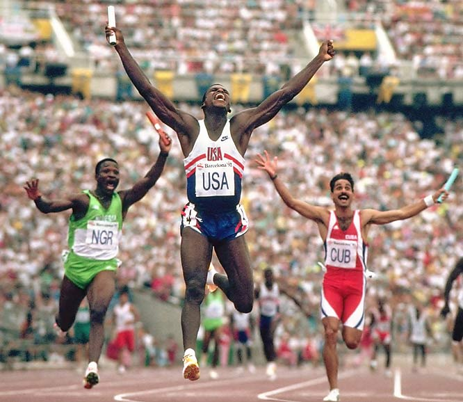 Lewis won 10 Olympic medals (nine golds) in track and field and 10 World Championship medals (eight golds). In 1984, he matched Jesse Owens' mark with four gold medals in a single Olympics.