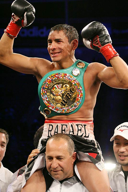 "An ""uplifted"" Marquez improved his record to 41-4 after defeating Vazquez in their March 2007 slugfest."
