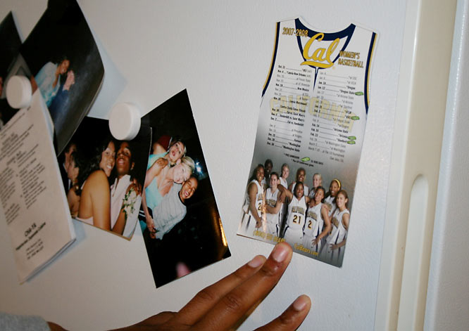 Ashley takes one more look at her fridge. Have you ever wondered what it would be like to see yourself on a magnet?