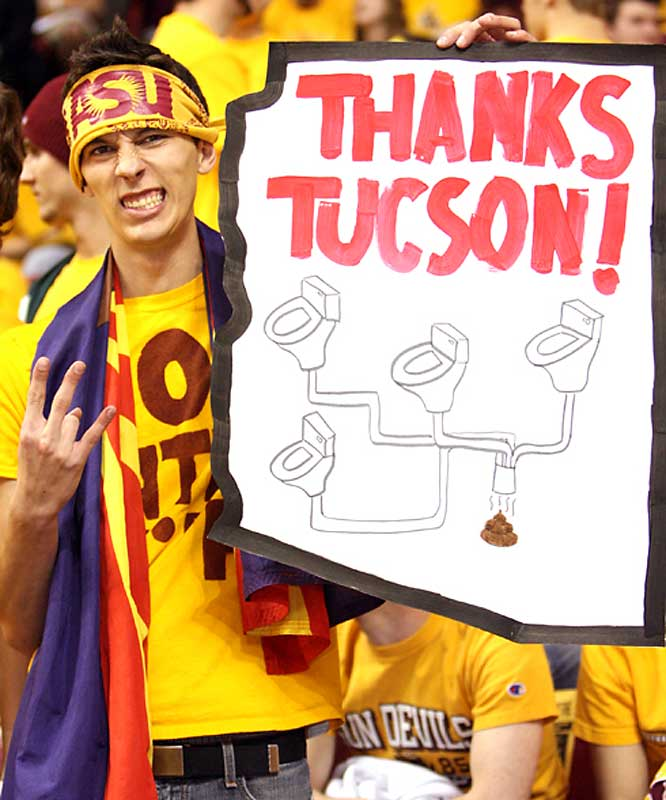 An ASU fan gives his impressions of Arizona.