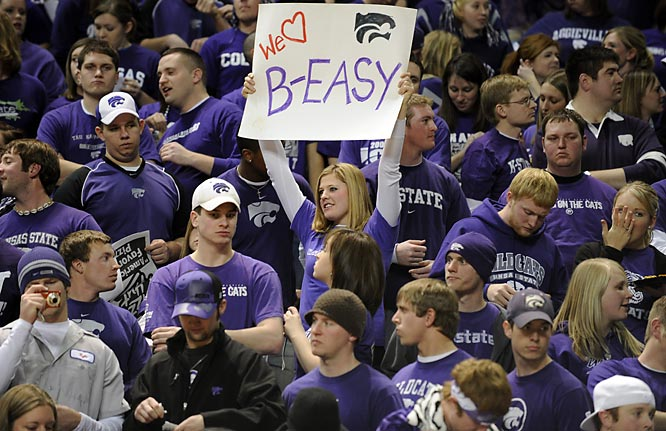 Can anyone blame this Kansas State fan for loving freshman sensation Michael Beasley.