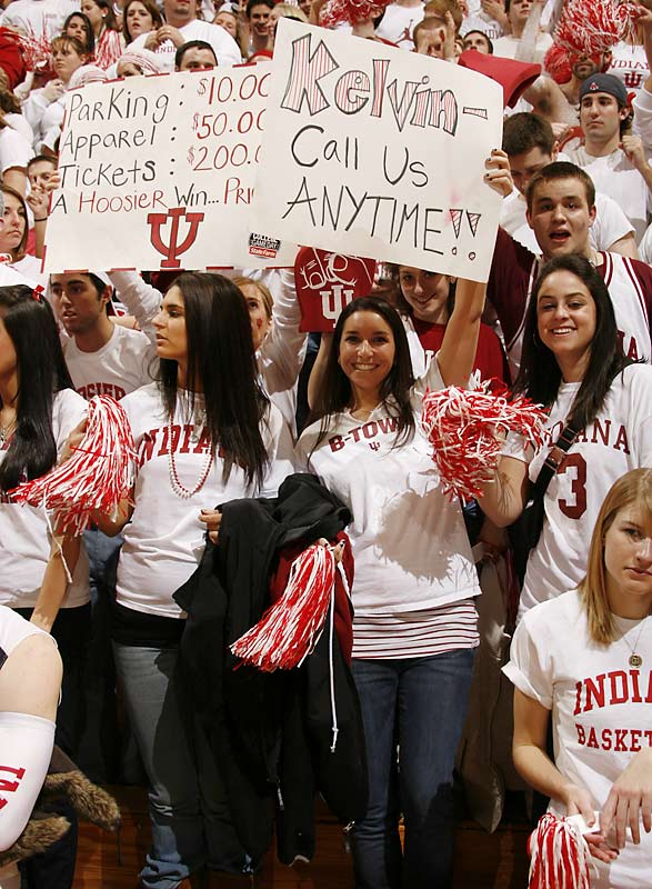 If only Indiana coach Kelvin Sampson called these girls instead of recruits, the school would be in a much better place.