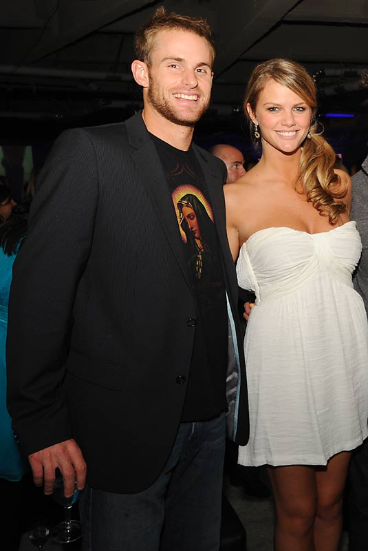 Sorry, fellas. In case you didn't know, model Brooklyn Decker is dating Andy Roddick. The duo celebrated Decker's appearance in the SI Swimsuit issue at a party Tuesday night.