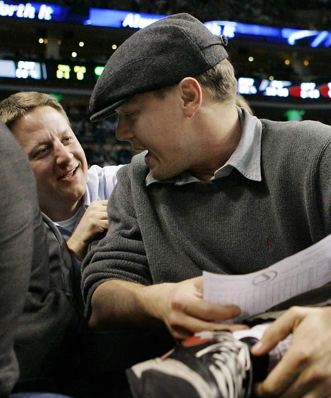 Is Leonardo DiCaprio a traitor? The longtime fixture at Lakers game was spotted Wednesday in Boston at the Cavaliers-Celtics game.