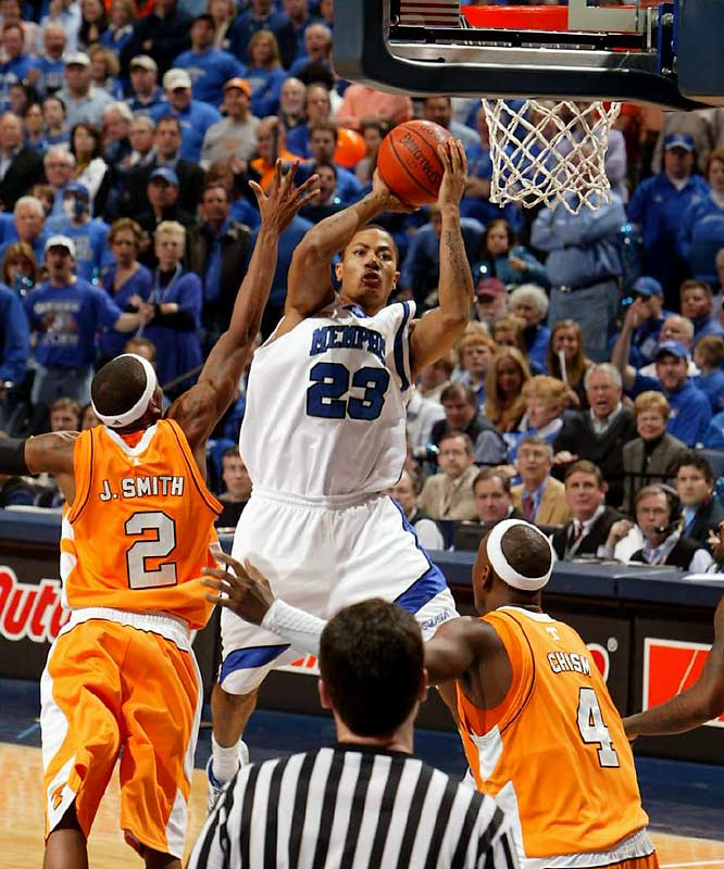 "Star freshman Derrick Rose and the Tigers couldn't handle the ""Super Bowl-like atmosphere"" against Tennesse, said coach John Calipari. But with the first loss under the Tigers' belt, look for them to come out in full force with an easy C-USA championship run and a first seed in the tourney.<br><br>Send questions/comments to siwriters@simail.com"