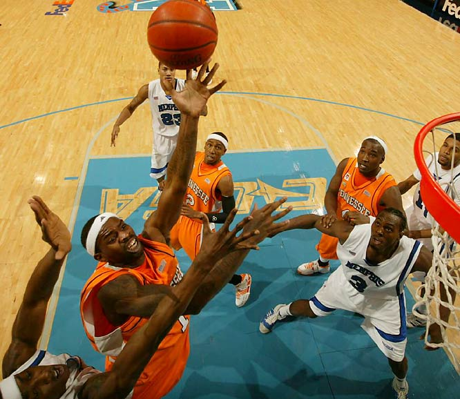 Their stop in the No. 1 spot may be short-lived, but the Vols are still gaining momentum. Sharp-shooter Chris Lofton has his form back after struggling for much of the first part of the season. With Kentucky and Vandy still two games behind, look for the Vols to end the regular season with an SEC championship.<br><br>Send questions/comments to siwriters@simail.com