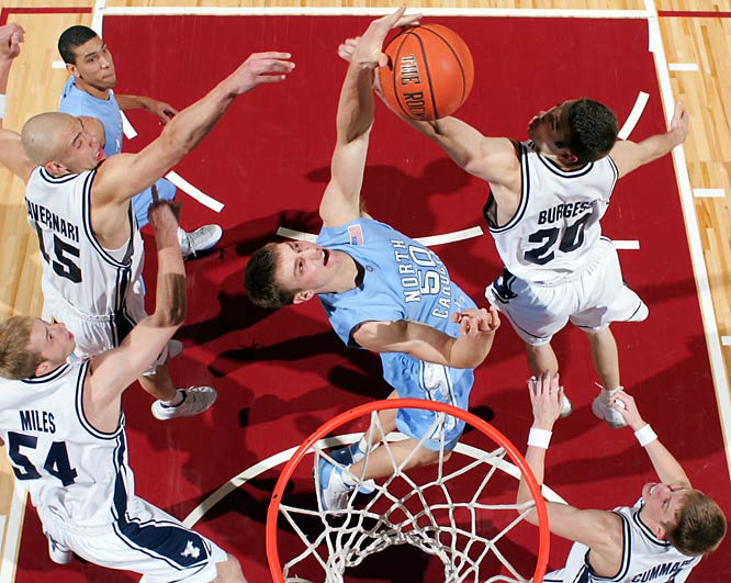 The Heels are headed to Boston College on a five-game winning streak ... all without point guard Ty Lawson, who's been sidelined with an ankle injury.  With Lawson back by conference tourney time, expect Psycho T and the Heels to go far -- and get a No. 1 seed in the big dance.<br><br>Send questions/comments to siwriters@simail.com
