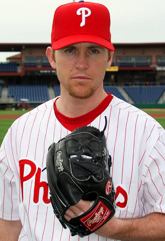 """Once known as one of the game's best, """"Lights Out"""" Lidge lost his job as Houston's closer last year, but the Phillies didn't hesitate to grab him to anchor their pen. His arrival allows Brett Myers to move back to the starting rotation."""