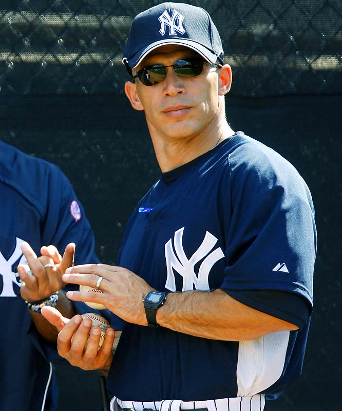 The Yankees first manager not named Joe Torre since 1995, Girardi won three titles as a player with New York, and was the NL Manager of the Year with Florida in 2006, his only season as a skipper.