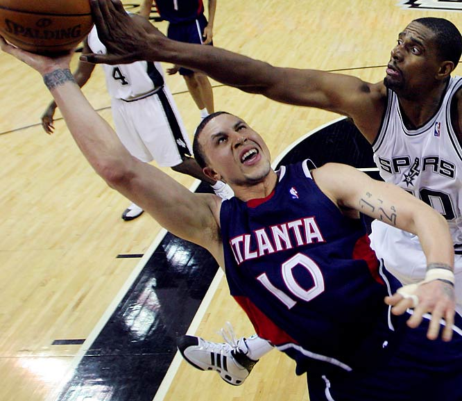 The Hawks signaled their desire to end the NBA's longest-active playoff drought of eight years by adding Bibby to their nucleus of Josh Smith, Joe Johnson, Marvin Williams and Al Horford. Bibby slumped last season and is playing catch-up this season after missing 21/2 months with a thumb injury, but the 29-year-old point guard has the type of playoff experience and big-shot track record that Atlanta desperately needed.