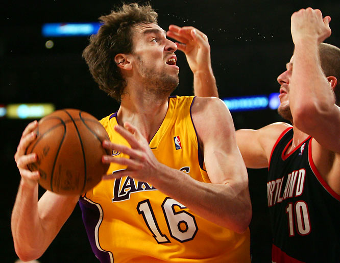 The Lakers were widely praised for acquiring Gasol from Memphis without surrendering any major part of their regular playing rotation. And the results have followed: Los Angeles has been nearly unbeatable with Gasol in the lineup. In addition, one of the NBA's deepest teams will get even stronger with the late-season return of promising third-year center Andrew Bynum, who is expected to come back from a knee injury in the next month or so.