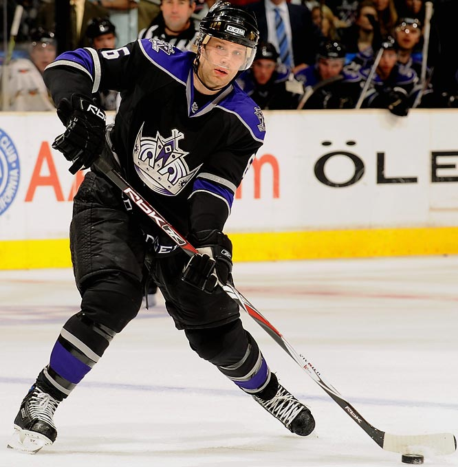 Detroit acquired Brad Stuart from the Kings for a second-round pick in 2008 and a fourth-round pick in 2009. Stuart's played a bit, well, distracted this season, but he's a far better return for the picks than Gill. When he's on his game, he's a nasty banger who can chip in on both special teams. When the Wings return to full health, he'll provide excellent value on the third pairing.