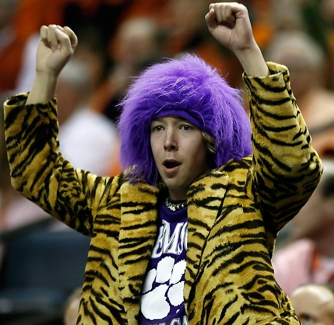 We bet the ladies love this Clemson fan's jacket.