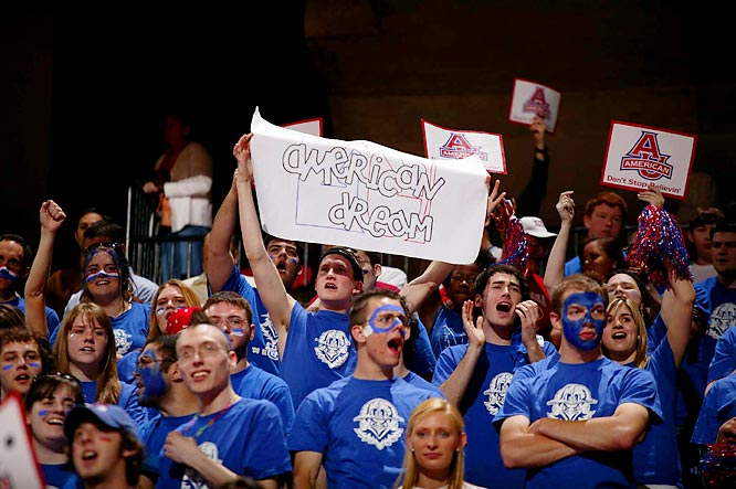 The American dream ended on Friday when American University lost its first-round matchup to Tennessee, 72-57.