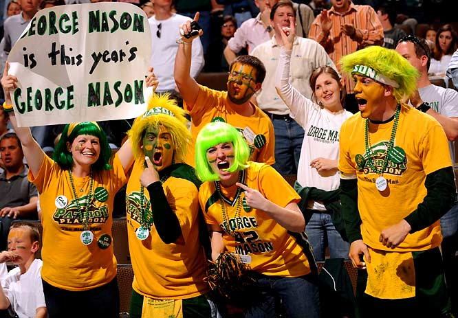 George Mason fans hope for a repeat of 2006, when the Patriots reached the Final Four.