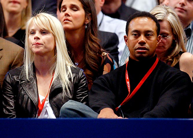 Tiger Woods didn't seem too impressed by this week's Pete Sampras-Roger Federer exhibition match.