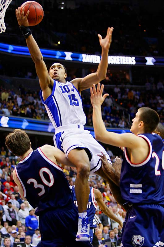 With his team facing the losing end of a Cinderella story, Gerald Henderson grabbed a rebound and took the ball coast-to-coast to put the Blue Devils up by one over Belmont with 11.9 seconds remaining.