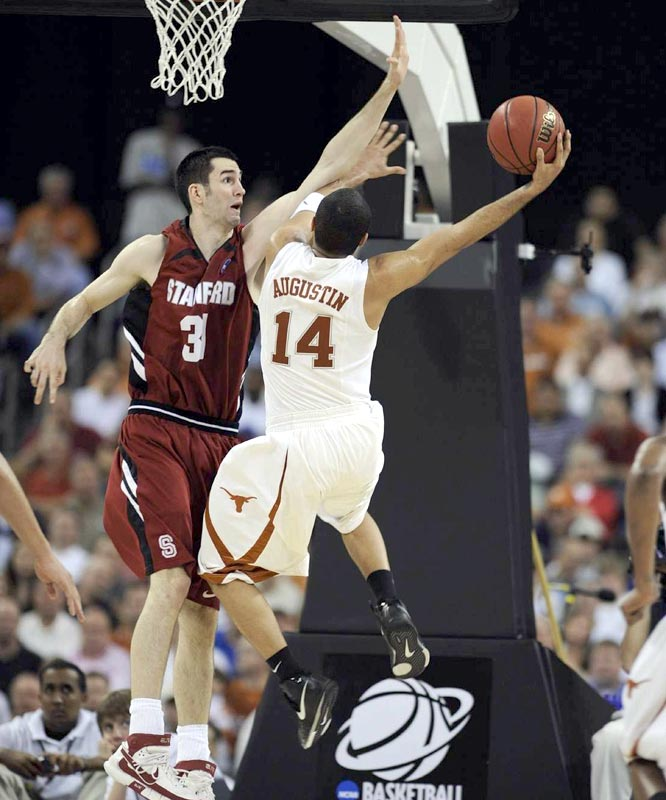 D.J. Augustin led Texas with 23 points, including eight during a crucial 20-3 run.