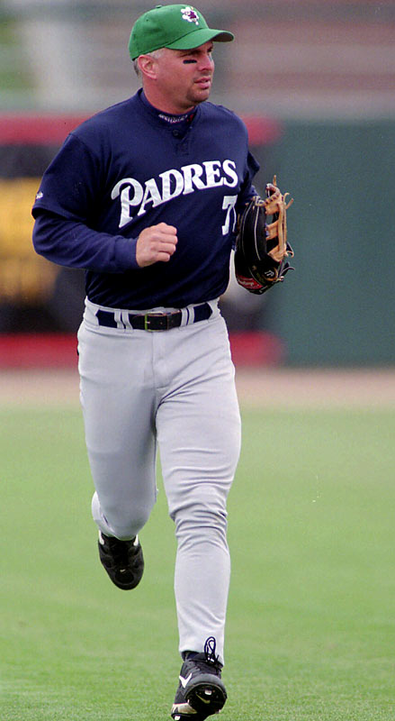 Garth Brooks attended spring training with the San Diego Padres (1998, 1999), New York Mets (2000) and Kansas City Royals (2004) but only managed two hits in 47 at-bats with the three teams.
