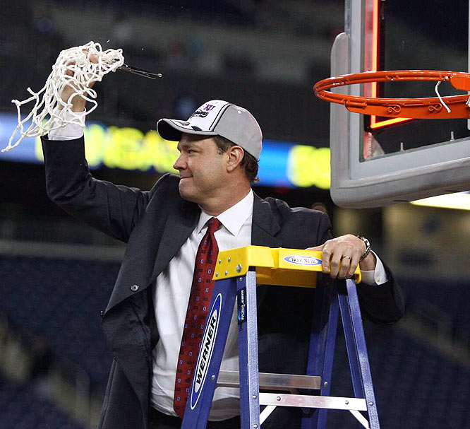 It took four attempts (with three different schools), but Bill Self finally is on his way to the Final Four.