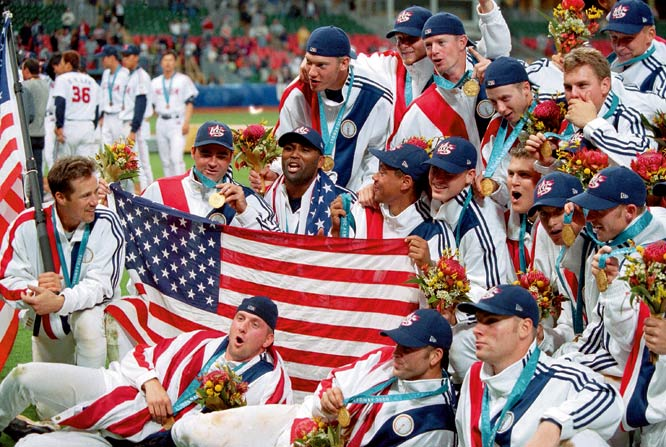 Before some Major Leaguers were flashed on highlight reels, they were cast members on the biggest sports stage in the world: the Olympics. Although baseball didn't officially become a medal-earning sport until 1992, sluggers have competed at 12 Olympiads, dating to 1904. However, this year may be baseball's last run as it was cut from the 2012 Games in London. Anticipating a possible baseball finale, here's a look at some familiar major leaguers who played in the Olympics.