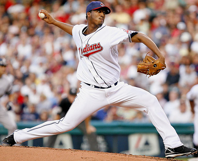 After failing miserably as a reliever in 2006, Carmona came to life when given a spot in the rotation last season. He helped carry the Indians to within one win of the American League pennant, winning 19 games and placing fourth in Cy Young voting.
