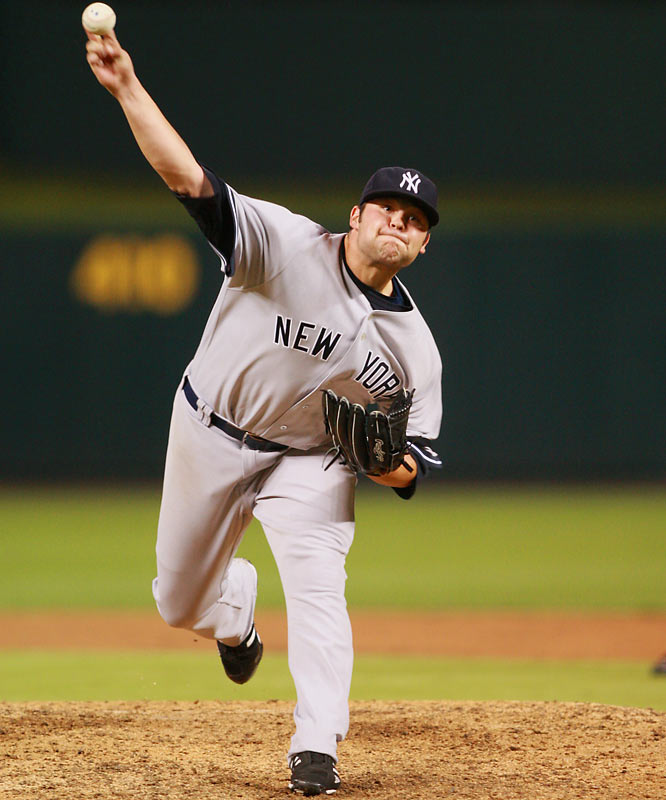 Bugs had more luck getting to Joba than big league hitters during his phenomenal rookie season in 2006 when he struck out 34 in just 24 innings and allowed only two runs.