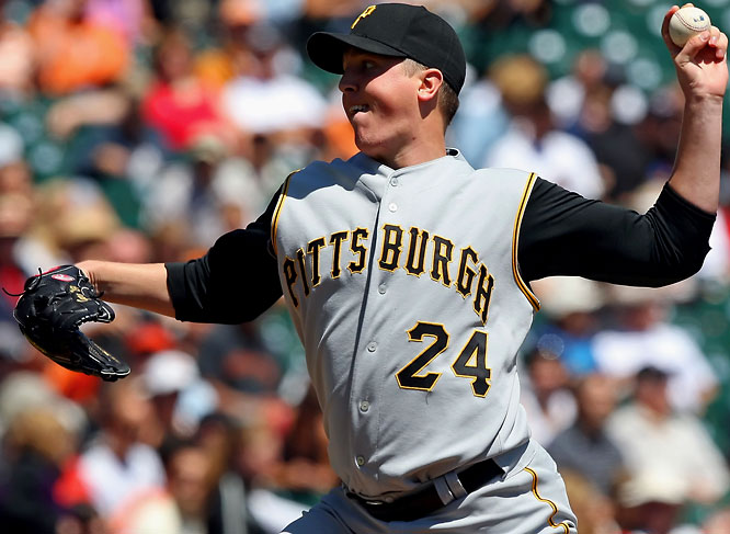 One of the few bright spots in the Pirates franchise, Gorzelanny went 14-10 with a 3.88 ERA last season and surpassed the 200 innings mark for the first time in his career.