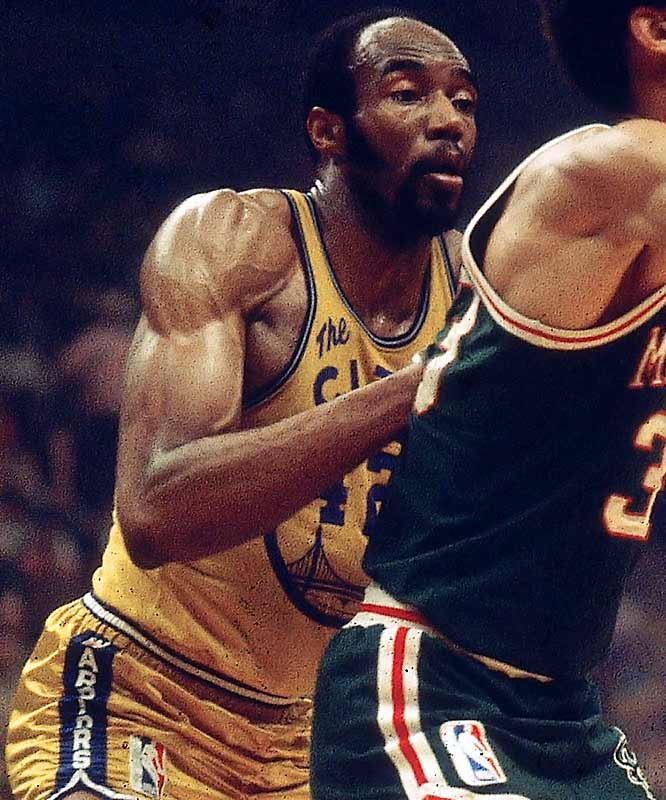 The dynamic duo of Nate Thurmond, left, and Jim Barnett combined for 47 points per game while treating Warrior fans to what is still the franchise's longest winning streak.