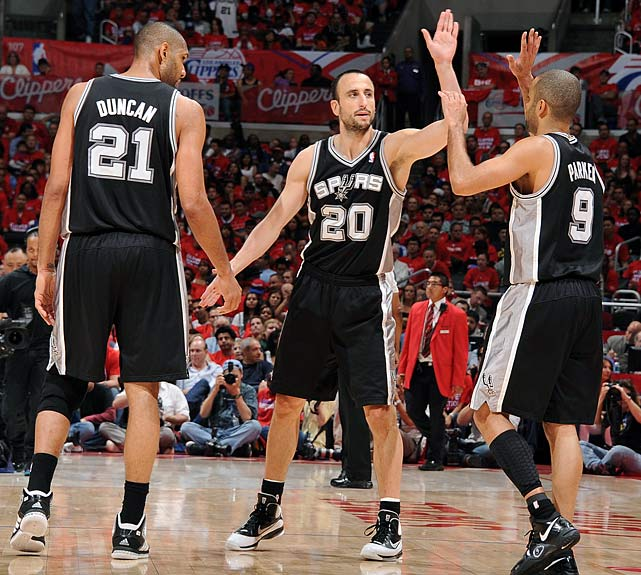 It's tough to imagine closing the season stronger than the Spurs did in 2012 by stringing together 10 wins. They added 10 more to that streak in the postseason, taking them as far as the Western Conference Finals.