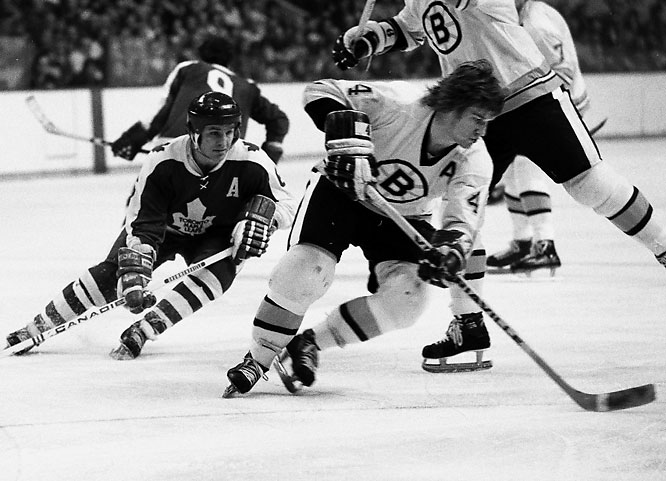 Orr remains the only player ever to win the Hart, Ross, Norris and Smythe Trophies in the same season (1969-70).