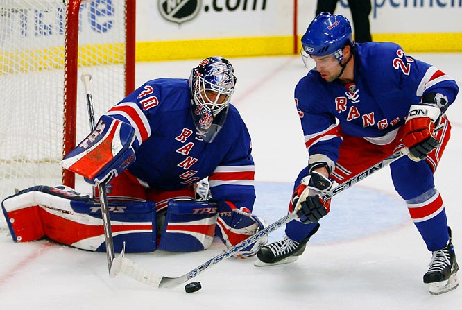 Imported from Buffalo last summer with a reputation for excellence in the clutch, Drury shines brightest at this time of year. The Rangers, who are battling for one of the Eastern Conference's final seeds, will need the center's grit as well as some consistently stout netminding from Lundqvist, who is still rounding into form after a mid-season slump that included eight losses in 12 starts.