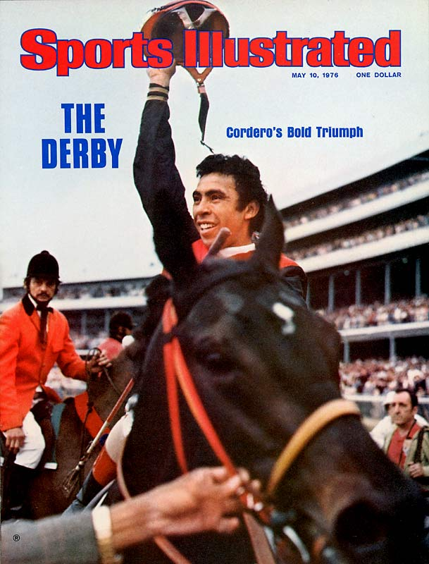 The Puerto Rican-born Cordero, a fearless rider who kept himself in immaculate shape, rode 7,057 winners during his illustrious career, including three Kentucky Derbys (1974, '76, and '85), two Preakness (1980 and '84) and a Belmont Stakes win in 1976 (Bold Forbes). He was the leading rider at Saratoga for 13 years.