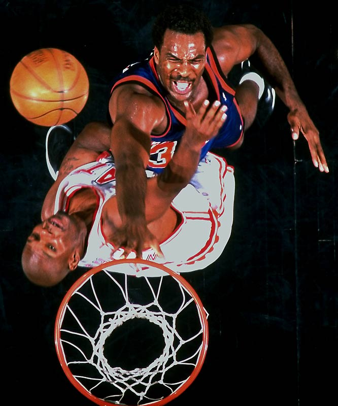 A vital part of Pat Riley's great Knicks teams of the 1990s, Oakley, a rough-and-tumble power forward out of Virginia Union, played a massive role in the success of New York's defensive goals.