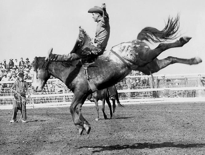 The all-time leader in World Championship Rodeo Cowboy awards made a career out of getting thrown to the dirt and picking himself up for more punishment. The Oklahoma native's laundry list of fractures includes an ankle, both arms (twice) and collar bone (on three occasions).