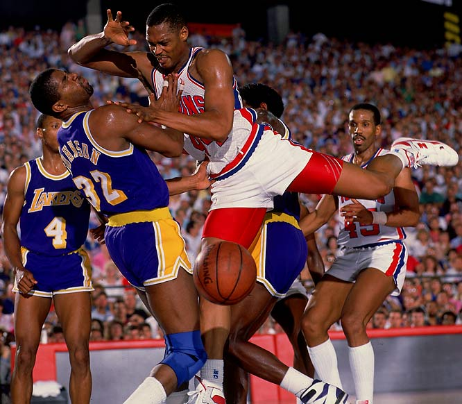 As the baddest of the Bad Boys, Mahorn was part of championship teams in 1989 and 1990. Undersized for the center position, the Hampton product compensated with his physical style of play and a consistently high energy level. The team's defense-oriented, hard-nosed style proved a perfect fit.