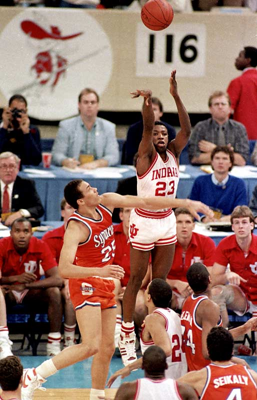 Jim Boeheim's first Final Four ended on a sour note as Indiana's Keith Smart helped the Hoosiers to a 74-73 win when he hit a 16-foot baseline jumper with four seconds left. <br><br>Which game would you add to the list? Send comments to siwriters@simail.com.