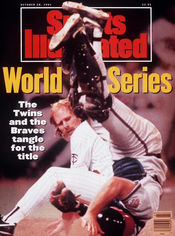 Minnesota's Jack Morris and the Braves' John Smoltz, Mike Stanton and Alejandro Peña locked up in a scoreless duel. The Twins' Gene Larkin singled home Dan Gladden with the winning run with one out in the bottom of the 10th to give Minnesota its second World Series title in five seasons.