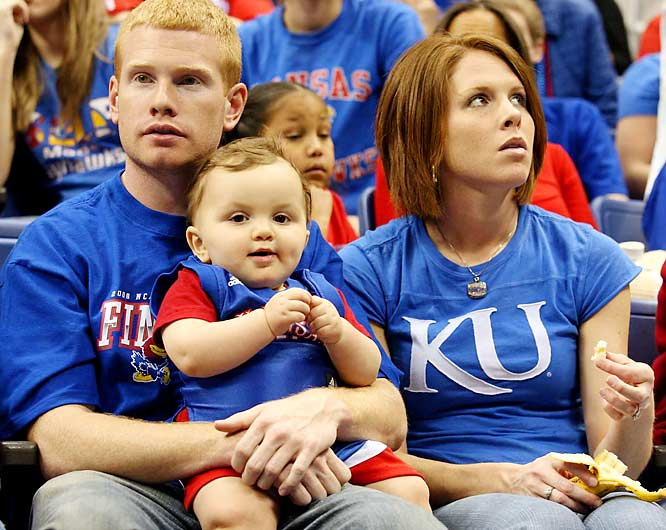 Sadly, this Kansas fan has already been to more Final Fours than 95 percent of the people looking at this picture.