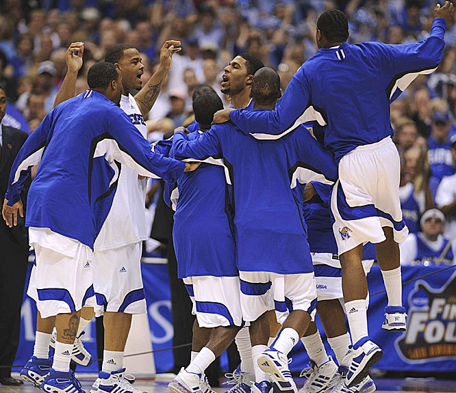 Memphis, which lost to Ohio State in last season's tourney at the Alamodome, entered the game with a 37-1 record and became the first team ever to tally 38 wins in a season.