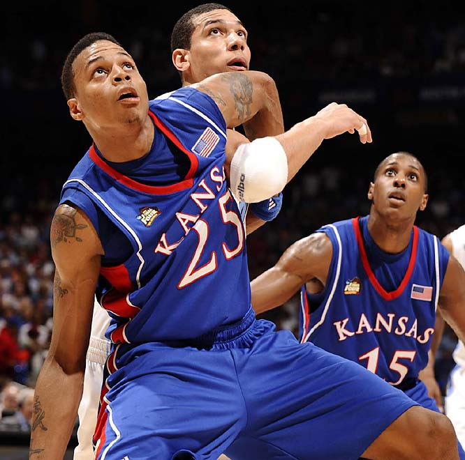 Brandon Rush, who scored a game-high 25 points, now gets to face Derrick Rose and Memphis in the title game.
