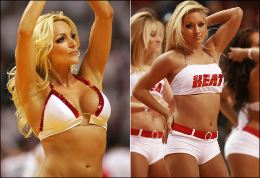Miami Heat Cheerleaders