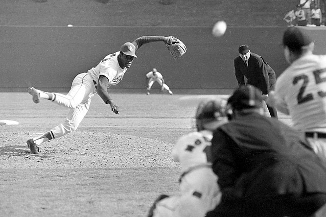In 1974, the sturdy St. Louis righthander joined Walter Johnson as only the second pitcher in major league history to reach the 3,000-strikeout plateau. In his first eight seasons, he posted a .658 winning percentage, and in 1968 he set the live-ball record with a paltry 1.12 ERA.