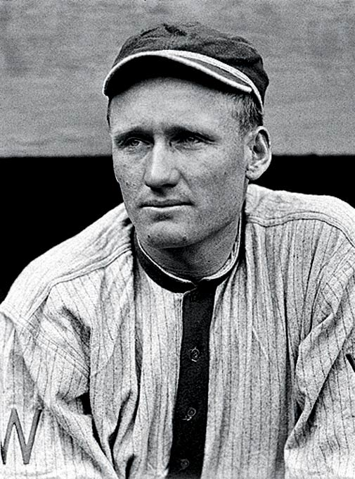 Big Train was clearly ahead of his time in the way he dominated opposing batters during 21 seasons with the Washington Senators, beginning in 1907. Along with his 410 wins (second all-time) and his MLB record 110 shutouts, Johnson also claimed 3,508 strikeout victims, which stood as the major league record until it was surpassed by Nolan Ryan in 1983.