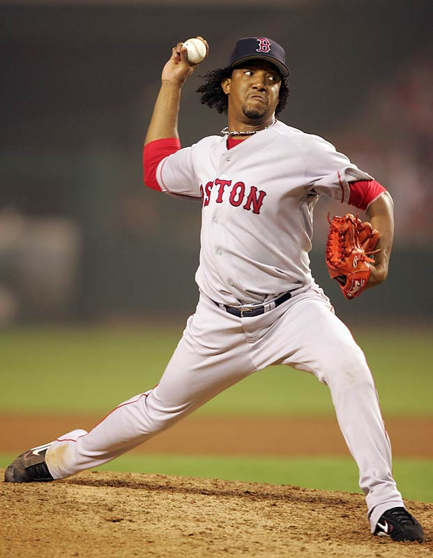 "Martinez, all 5'10"" of him, has overpowered his opponents throughout his career, resulting in 3,031 strikeouts. Martinez, who won a Cy Young with the Montreal Expos in 1997 and two more with the Boston Red Sox, reached the 3,000 plateau in 2007. He's sure to add to his total of 3,031 when he returns from the disabled list."