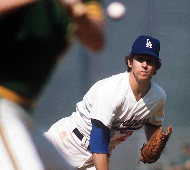 A model of consistency and longevity, Sutton reached the 3,000 plateau in 1983. During his 23 seasons, the tall righthander never made a trip to the disabled list. He pitched at least 33 games every season en route to 3,574 career strikeouts.