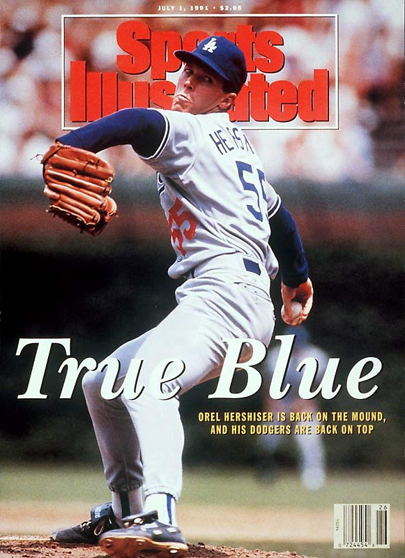 Hershiser's transcendent performance during the 1988 season represented the zenith of his 17-year career with the Dodgers, Indians, Giants and Mets. The right-hander led the NL in wins (23), innings (267), and complete games (15), and finished the season with 59 consecutive shutout innings to break Don Drysdale's long-standing mark. He led the Dodgers to a five-game upset of the favored A's in the World Series, winning SI Sportsman of the Year honors a couple of months later.  Runner-up: Hideki Matsui  Worthy of consideration: Fausto Carmona