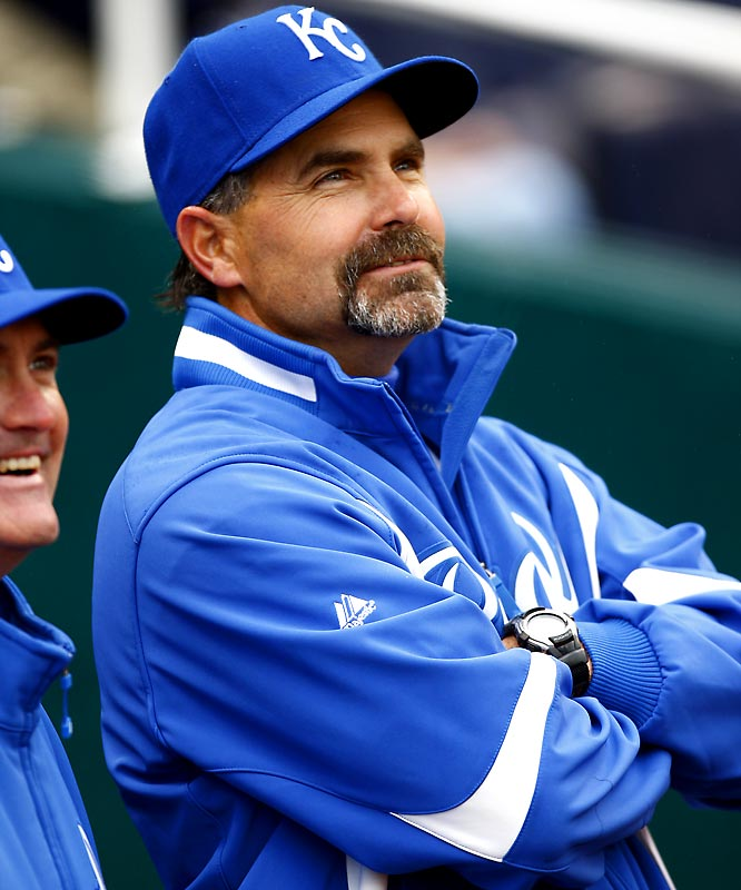 The one-time second baseman who played Triple-A for the Cleveland and who spent the last five years managing in Japan has finally made it to the majors as a manager. He's been  given the overwhelming task of trying to improve the Royals, who won just 69 games last year.